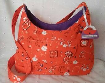 Clemson purse!! OOAK & handmade!!