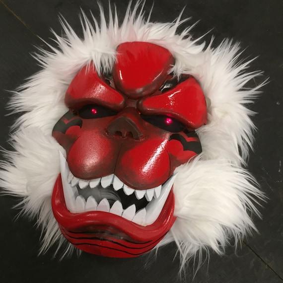 The Devil S Music De Maskers: Enji Koma Mask TOKYO GHOUL Anime Prop For Cosplay
