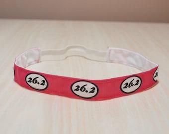 Non-Slip Headband - Running, Marathon, 26.2