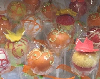 12 Cake Pops, Fall, Octoberfest, Halloween