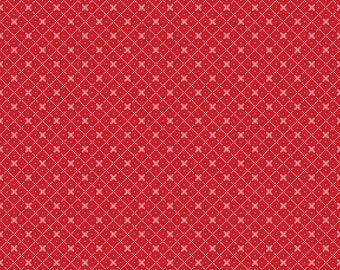 Bloom and Bliss - Diamond Red by Nadra Ridgeway of Ellis & Higgs for Riley Blake Designs C4586-RED