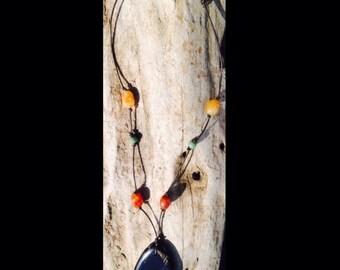 Landscape Jasper Pendant Necklace