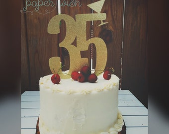 35th birthday etsy for 35th birthday decoration ideas