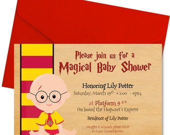 Harry Potter Baby Shower Thank You Notes Harry Potter Baby