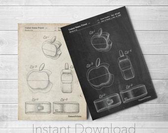 Apple Logo Printables, Apple Computer, Steve Jobs, Technology Art, Nerd Gift, PP0260