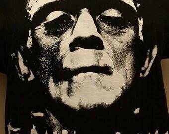 FRANKENSTEIN MONSTER BACKPATCH punk horror bride  of son classic halloween