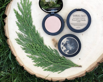 Cream Concealer Compact • Botanical Blend • Correcting Concealer • Earth Mineral Cosmetics • Vegan + Organic + Gluten Free + Cruelty Free