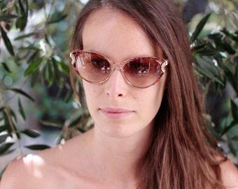 YSL Vintage Cat Eye Sunglasses, Stunning YSL Cats eye, unique gift