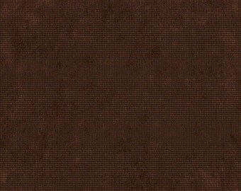 Half Yard Sports Fan - Vintage Sports Texture in Brown - Cotton Quilt Fabric - by Peter Horjus for Blend Fabrics - 116.103.03.2 (W3355)