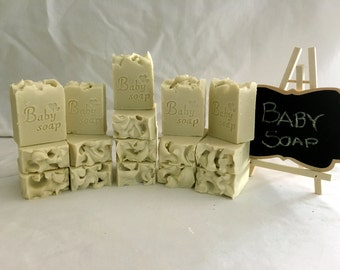 Rose 100% Olive Oil Baby Soap
