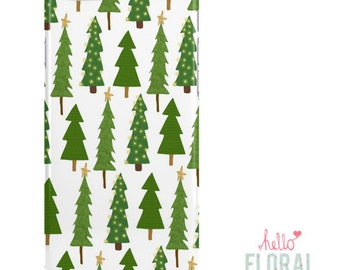 Christmas Tree iPhone 4/4s 5 5c 5s 6/6s Plus Samsung Galaxy S2 S3 S4 s5 Ace iPod Touch 4th 5th hard case