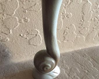 Frankoma snail bud vase