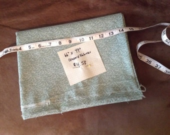 1+ yard of sage calico from Concord Fabrics