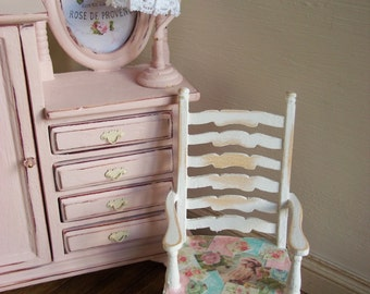 Dolls House Ladder Back Chair