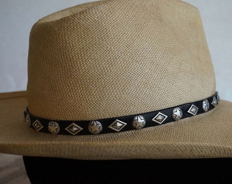 Silver Stars and Diamonds Hatband ... Made to Order