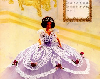 Items Similar To Annie S Calendar Bed Doll 1994 Collector