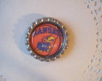 Kansas Jayhawks Magnet (16) - Jayhawks Refrigerator Magnet - sports magnet