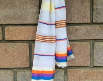 Light cotton Ethiopian scarf