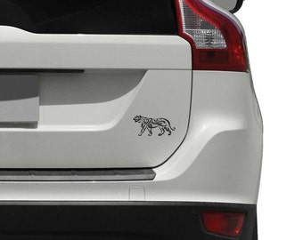 Calligraphy Puma Car Decal for Cars, Trucks and Motorcycles