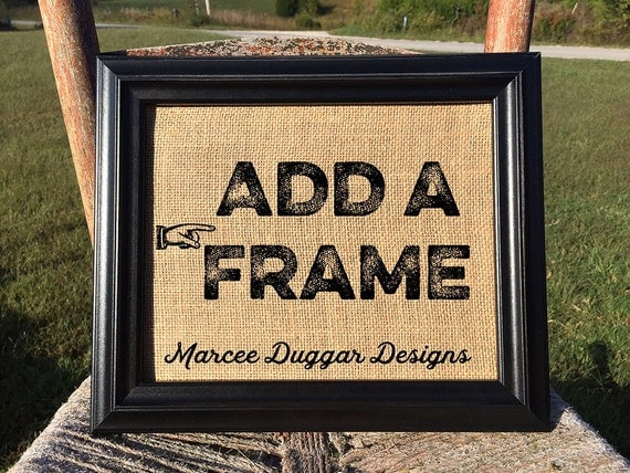 ADD A FRAME | Housewarming Gift  |Black  Picture Frame | 8x10  | 11x14 |  Barnwood Frame | #0002