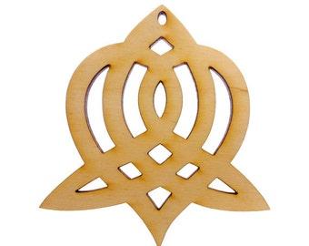 Celtic Sisterhood Ornament - Celtic Sisters Knot - Celtic Knot SIster - Sisters Symbol - Sister Celtic Symbol - Sisterhood Knot-Personalized