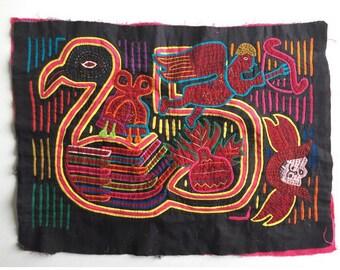 Vintage Kuna Mola Handmade Textile