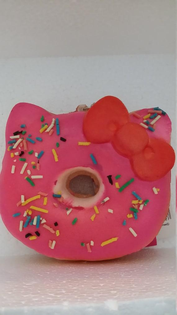 Kawaii hello kitty squishy pink donut by JenjuliART on Etsy