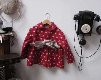 Pattern sewing coat MARGUERITE 2-4-6 years