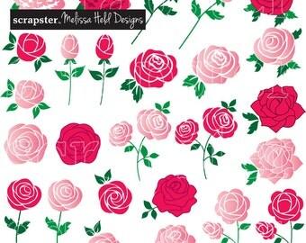 Classic Rose Clipart