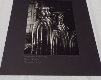 Vintage Signed 16x20 Photograph by Christopher J. Plantadit