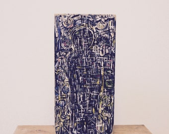 Abstract Block Art