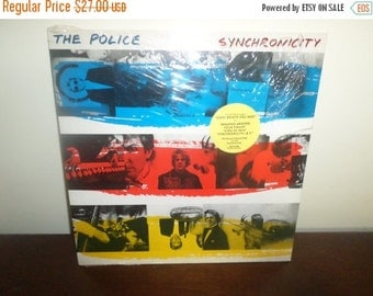 Save 30% Today Vintage 1983 LP Record The Police Synchronicity Near Mint Condition Rare Purple Translucent Vinyl 4044