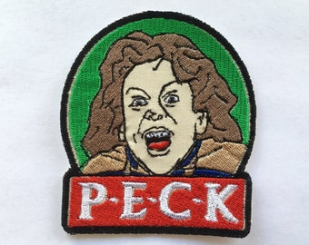 Willow PECK Embroidered  Iron-on Patch