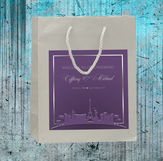 Las Vegas Destination Wedding Gift Bags : favorite favorited like this item add it to your favorites to revisit ...