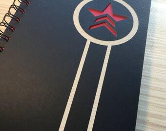 Renegade Laser Cut Notebook Journal (Black)