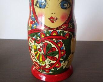 Authentic Russian Matryoshka Nesting Dolls
