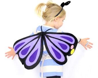 The Butterfly - Lavender -Handmade Children's Costume