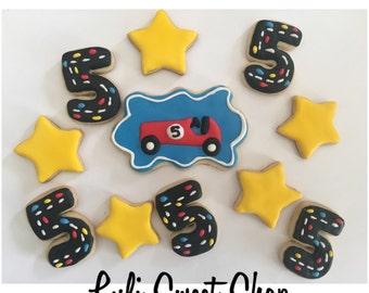 12 car sugar cookies