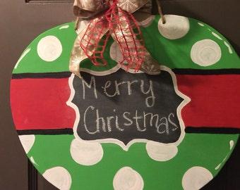 Christmas Ornament Door Hanger