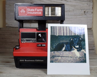 Polaroid State Farm 600 Business Edition Instant Camera State Farm Insurance 600 Film Polaroid Film Polaroid SX70 Polaroid Close Up