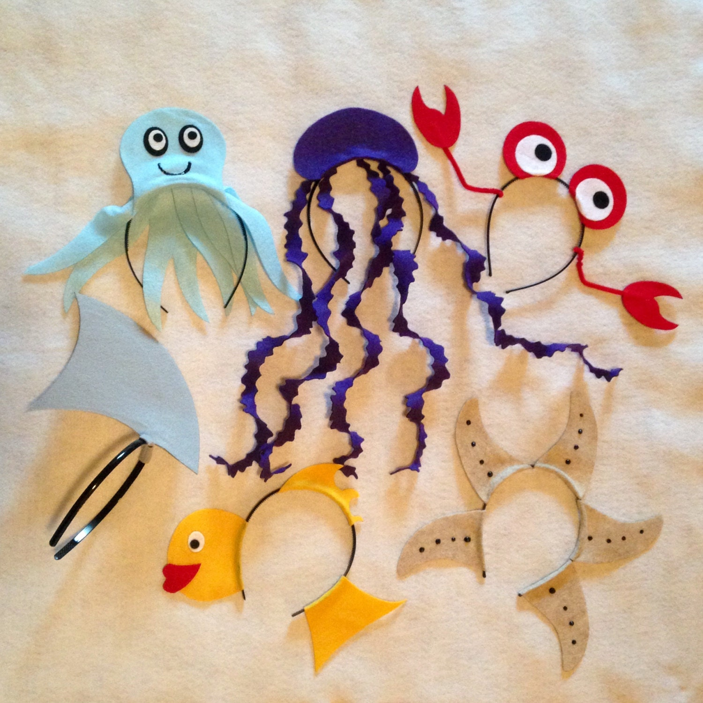 Under the sea ocean beach Theme Headbands birthday party