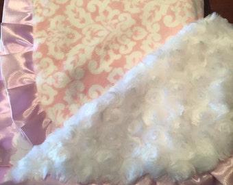 Minky baby blanket