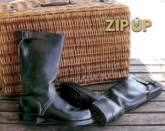 Vintage german motorcycle boots