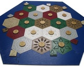 Settlers of Catan Collectors Edition Laser Cut and Etched Game Board
