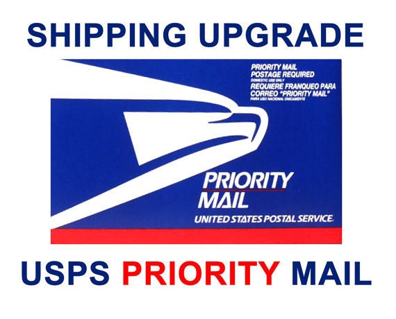 Upgrade your order to Priority Shipping