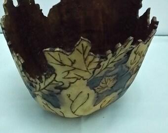 Gourd Carved Bowl