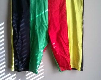Vintage Jams workout/ biker shorts