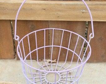 vintage wire gym locker basket old school by vintagejunqueamy. Black Bedroom Furniture Sets. Home Design Ideas