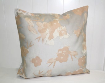 Floral Decorative 16X16 Nate Berkus Dree Floral Fabric, Indoor Throw Pillow Cover