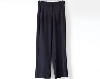 SALE 30% OFF Black pants, wide leg pants women, wide leg trousers, flowy pants, casual pants, high waisted pants, high waisted trousers